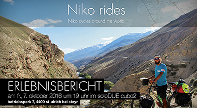 Niko cycles around the world